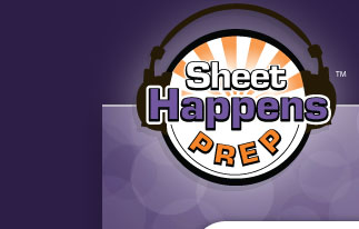 Sheet Happens Prep Logo